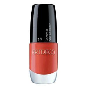 artdeco ceramic nail lacquer bright red