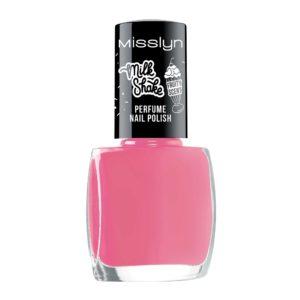 misslyn milk shake perfume nail polish pink frappe