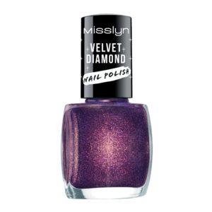 misslyn velvet diamond nail polish extra galactic