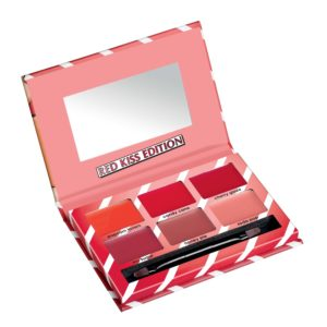 misslyn lip candy palette red kiss edition