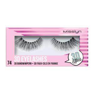 misslyn 3d eyelashes no 74