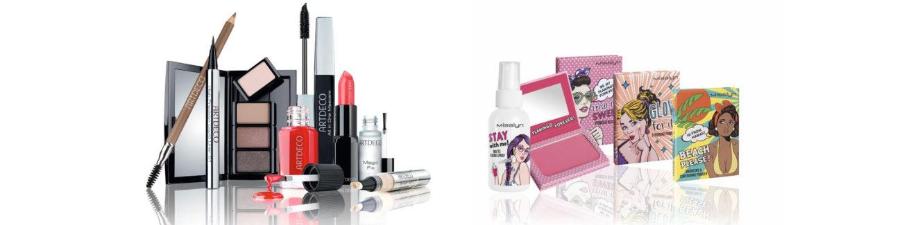 Makeup Category: An array of makeup products