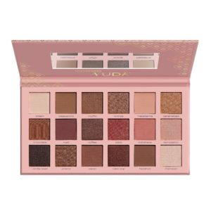 artdeco eyeshadow palette nude open