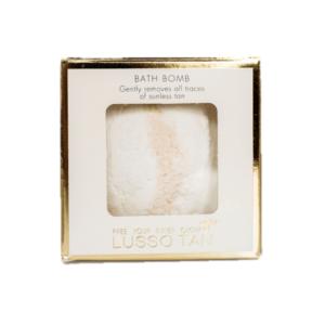 lusso tan the original bath bomb