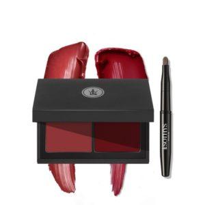 sothys lip duo palette brun rose et rouge bordeaux