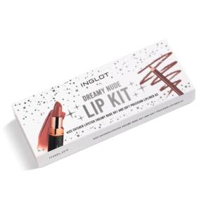 inglot dreamy nude lip kit (closed)