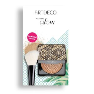 artdeco glow bronzer powder brush set