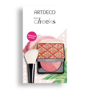 artdeco bronzing blush powder brush set