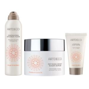 artdeco orange body care gift set