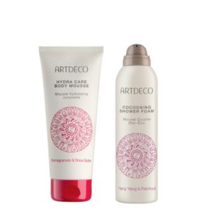 artdeco pink body care gift set