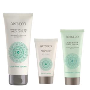 artdeco green body care gift set
