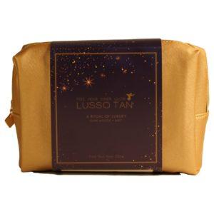 lusso tan flawless kit dark (case)