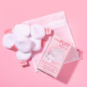 makeup eraser toner puff 7 pack